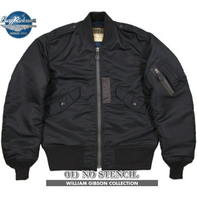 BUZZ RICKSON'S/バズリクソンズ JACKET, FLYING, LIGHT Type BLACK L-2B (REGULAR) William Gibson Collection...