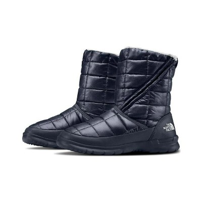 ザ ノースフェイス The North Face レディース ブーツ シューズ・靴【ThermoBall Microbaffle Zip Bootie】Urban Navy/Bone White