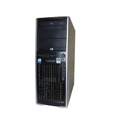 OSなし HP WorkStation XW4600 RV724AV Core2Duo E6550 2.33GHz 2GB 80GB DVD-ROM Quadro NVS290 中古ワークステーション