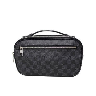 【LOUIS VUITTON】ルイヴィトン『ダミエ グラフィット アンブレール』N41289 メンズ ボディバッグ 1週間保証【中古】b01b/h17A