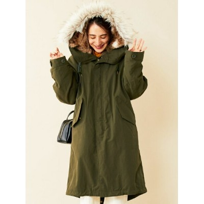 [Rakuten Fashion]【SALE/50%OFF】【WEB限定】by※∴ボアライナー付きモッズコート-3WAY- BEAUTY & YOUTH UNITED ARROWS ビューティ...