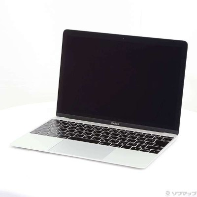 【中古】Apple(アップル) MacBook 12-inch Early 2015 MF855J/A Core_M 1.3GHz 8GB SSD256GB シルバー 〔10.10 Yosemite...