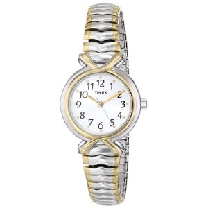 Timex タイメックス レディース腕時計 Women's T21854 Elevated Classics Two-Tone Expansion Band Watch