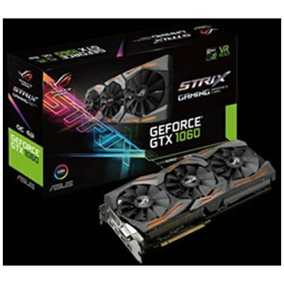 ASUS エイスース グラフィックボード NVIDIA GeForce GTX 1060搭載 PCI-Express STRIX-GTX1060-O6G-GAMING[6GB/GeForce...