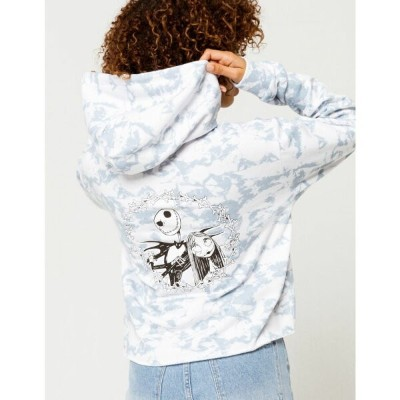 ヴァンズ VANS レディース パーカー トップス【x The Nightmare Before Christmas Meant to Be Crop Hoodie】WHITE COMBO