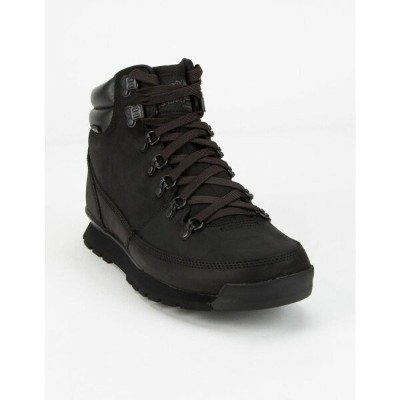ザ ノースフェイス THE NORTH FACE メンズ ブーツ シューズ・靴【Back-To-Berkeley Redux Leather Boots】BLACK/BLACK