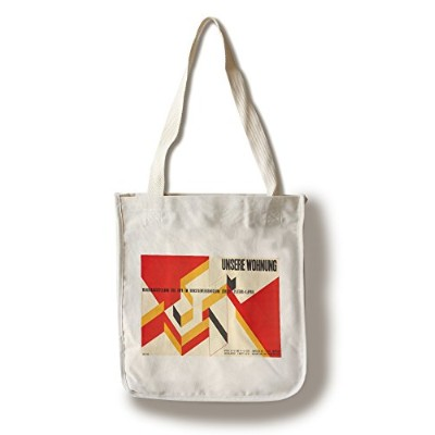 Unsere Wohnungヴィンテージポスター(アーティスト: Lohse )スイスC。1943 Canvas Tote Bag LANT-73053-TT