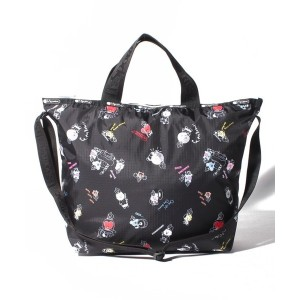 LeSportsac EASY CARRY TOTE/BT21 BLACK