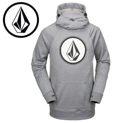 VOLCOM ボルコム スノーボード パーカー HYDRO RIDING HOODIE Heather Grey 19/20