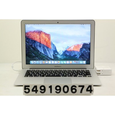 Apple MacBook Air A1466 Early 2015 Core i5 5250U 1.6GHz/8GB/256GB(SSD)/13.3W/WXGA+(1440x900)【中古】...