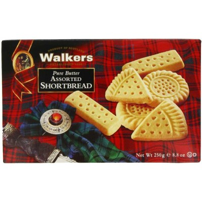 Walkers Assorted Shortbread ウォーカー アソートショートブレッド 250g
