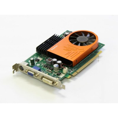 Leadtek Geforce 8500GT 256MB DVI/VGA/TV-out PCI Express x16 WinFast PX8500 GT TDH【中古】【送料無料セール中! ...