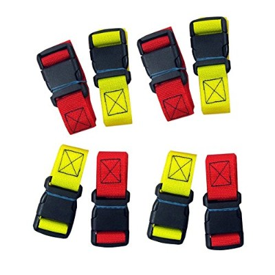 iTec Mfg Backboard Straps Quick Side Release Buckle, 8 Count by iTec Mfg