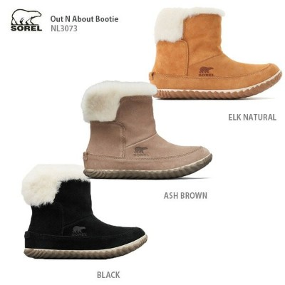 SOREL 〔ソレル レディーススノーシューズ〕  2020 OUT'N ABOUT BOOTIE NL3073