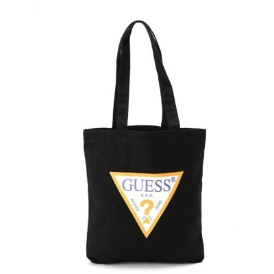 GUESS GUESS/TOTE BAG ビリゴ バッグ トートバッグ ブラック ホワイト【送料無料】