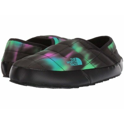 ノースフェイス レディース サンダル シューズ Thermoball Traction Mule V Northern Lights Print/TNF Black