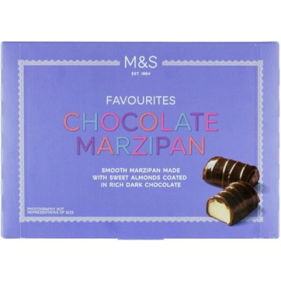 M&S / Marks & Spencer | Chocolate Marzipan 150g | Smooth marzipan made with sweet almonds coated in...