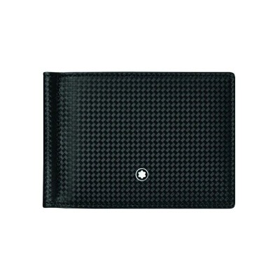 モンブラン MONTBLANC メンズ マネークリップ 【extreme 2. wallet 6cc with money clip wallet】Black