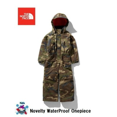 THE NORTH FACE NOVELTY WATER PROOF ONEPIECE ノースフェイス 防水 NSJ61909 Woodland キッズ ワンピース