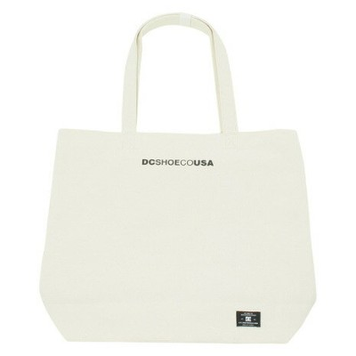 ディーシー・シュー(DC SHOE) トートバッグ CANVAS TOTE 18SU 5230J810 WHT (Men's、Lady's、Jr)