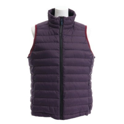ホールアース(Whole Earth) LIGHT DOWN VEST WE28HK19パープル (Lady's)
