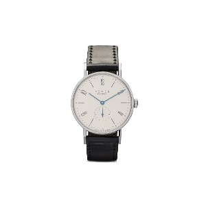 Nomos タンジェント 38mm - White, Silver-Plated
