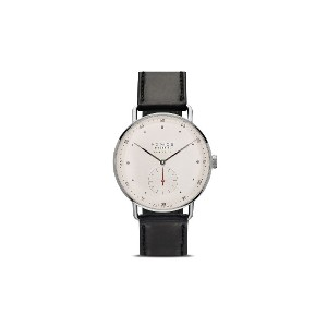 Nomos メトロ 38mm - White, Silver-Plated
