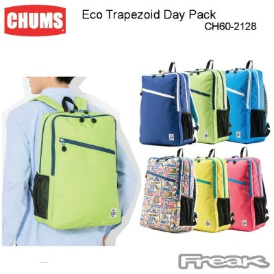 CHUMS チャムス CH60-2128 Eco Trapezoid Day Pack エコトラペゾイドデイパック  ※取り寄せ品