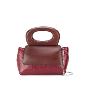Lemaire round handle tote bag - レッド