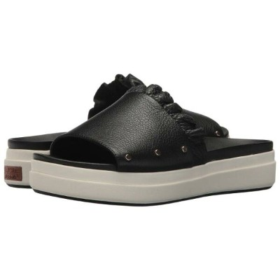 DR. SCHOLL'S スカウト サンダル 【 SLIDE SCOUT ORIGINAL COLLECTION BLACK LEATHER 】 送料無料