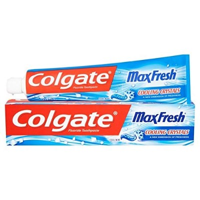 [Colgate ] 冷却結晶歯磨き粉の125ミリリットル新鮮なコルゲートマックス - Colgate Max Fresh with Cooling Crystals Toothpaste...