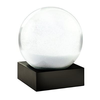 (Snow Storm) - Only Snow Snowball Snowstorm Unique Snow Globe by CoolSnowGlobes