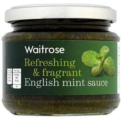 ミントソース 195グラム Refreshing & Fragrant Mint Sauce Waitrose 195g