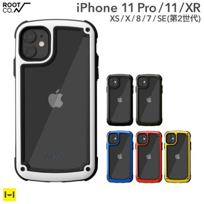 耐衝撃 iPhone11 iPhone11Pro iphoneXS iphoneX XR iphone8 iphone7 ROOT CO. Gravity Shock Resist Tough &...