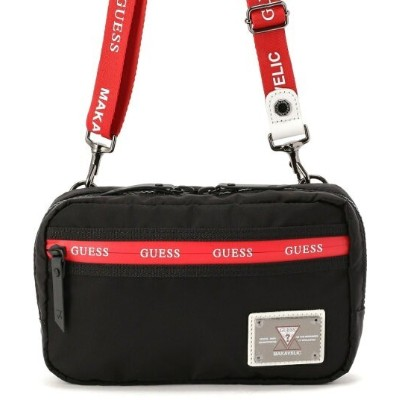 UNCUT BOUND 【MAKAVELIC×GUESS/マキャベリック×ゲス】ShoulderPouch/ショルダーポーチバッグ アンカットバウンド バッグ バッグその他 ブラック【送料無料】