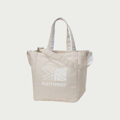 Karrimor(カリマー) cotton tote White Logo 92197