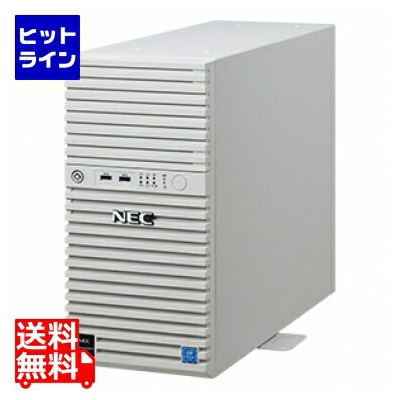 NEC ( NEC ) Express5800/T110j(4C/E-2124/8G/2HD) Xeon SATA 4TB*2/RAID1 W2019 NP8100-2757YPAY