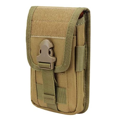 JETEDC(ジェットイデイシイ)Molle EDCバッグ 携帯収納ポーチ (黄)
