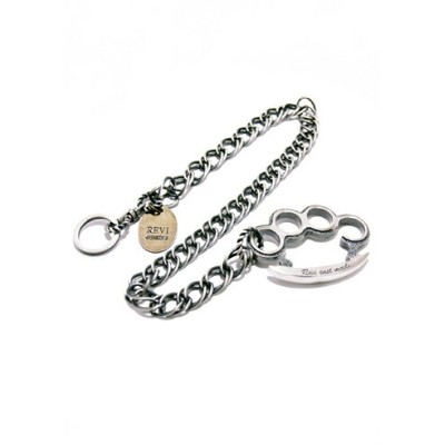 REVI CAST MADE / KNUCKLE WALLET CHAIN TWIST