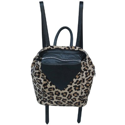 CHROME HEARTS LEATHER BACKPACK CHEETAH クロムハーツ レザー バックパック チーター柄【中古】