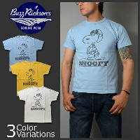 "Buzz Rickson's(バズリクソンズ) PEANUTS S/S 半袖 Tシャツ ""SNOOPY,TYPE A-2"" スヌーピー BR76685"