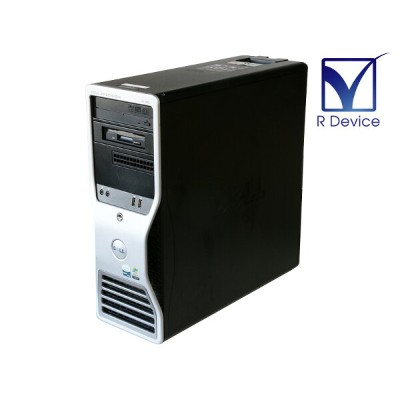 Precision 490 DELL Xeon Processor 5140 2.33GHz/16GB/500GB/DVD-RW/Quadro FX 550 128MB【中古】