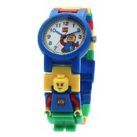 LEGO Kids' レゴキッズ腕時計 クラシック 9005732 Classic Minifigure-Link Watch・お取寄