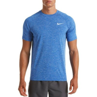 ナイキ Nike メンズ ラッシュガード 水着・ビーチウェア【Heather Short Sleeve Hydro Rash Guard (Regular and Big & Tall)】Game...
