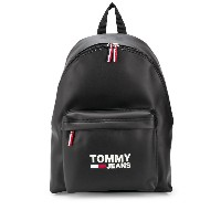 Tommy Jeans ロゴ バックパック - ブラック