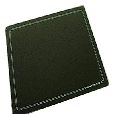 (15 X 12) - 15 X 12 Black with White Border Tempered Glass Surface Saver Cutting Board