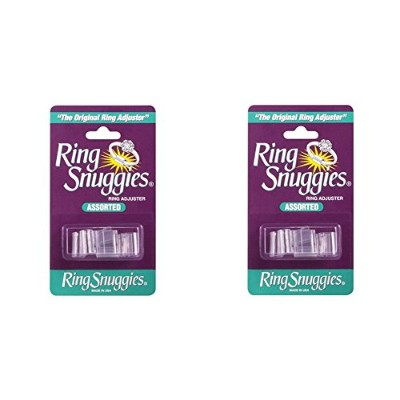 (2-Pack) - 2 X Ring Snuggies - The Original Ring Adjusters - Assorted Sizes