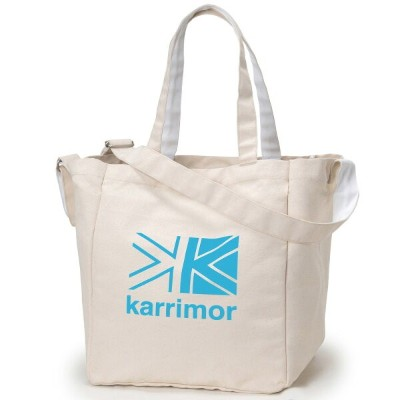 カリマー karrimor cotton tote K.Blue Logo [92154]