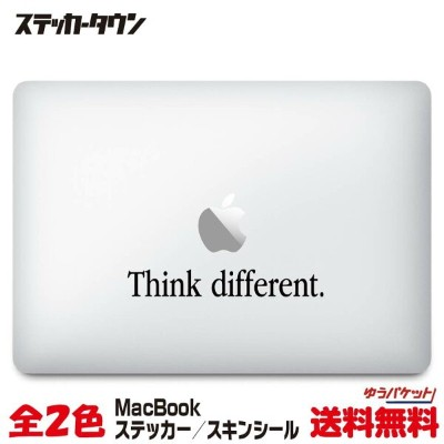 "MacBookステッカー スキンシール ""think different2"" MacBook Air / Pro"