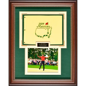 Millionaire Gallery Tiger Woods - 5 Time Masters Champion Flag【ゴルフ その他のアクセサリー>ギャラリー】